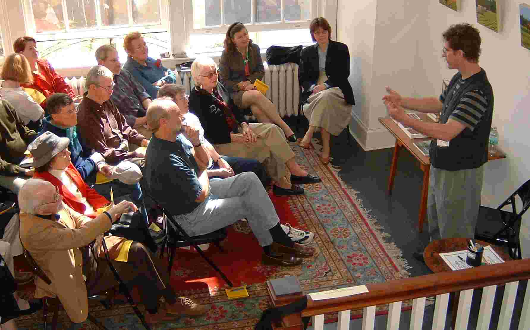 Dean King at 2004 Virginia Festival of the Book